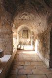 胡同古老jerusale犹太季度 免版税图库摄影