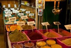 胡同城市耶路撒冷市场 免版税库存图片