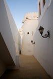 胡同堡垒老阿拉伯联合酋长国 免版税库存照片