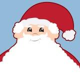 胡子圣诞老人 免版税库存照片