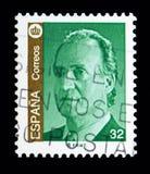 胡安・卡洛斯一世, serie国王,大约1997年 免版税库存图片