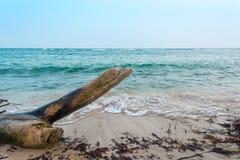 胡安Dolio海滩 库存图片