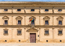 胡安VÃ ¡ zquez de莫利纳宫殿  库存图片
