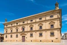 胡安VÃ ¡ zquez de莫利纳宫殿  免版税库存图片