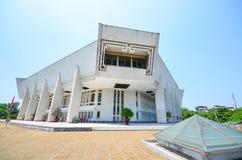 胡志明博物馆,其中一个最大的博物馆在越南 免版税库存照片