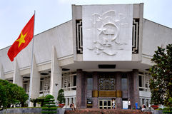 胡志明博物馆,河内,越南 免版税库存照片