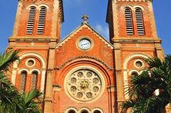 胡志明大教堂, 免版税图库摄影