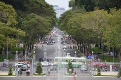 胡志明市交通 库存照片