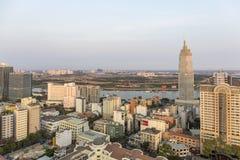 胡志明市在阳光下 库存图片