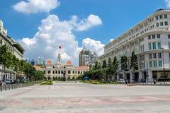 胡志明市广场 免版税库存图片