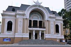 胡志明市歌剧院,越南 图库摄影