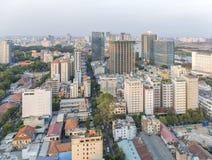 胡志明市的中心 免版税图库摄影
