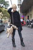 胡志明市的人们 图库摄影