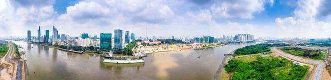 胡志明市越南西贡 库存图片