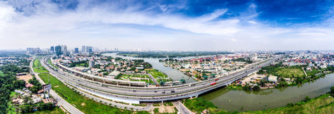 胡志明市越南西贡 免版税库存图片