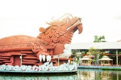 胡志明市越南, 12,25,2017游乐园Suoi连队 免版税图库摄影