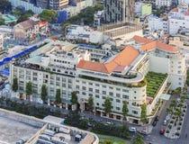 胡志明市雷克斯旅馆  免版税图库摄影