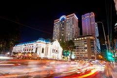 胡志明市,越南。 库存照片