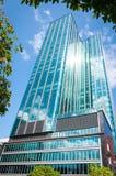 胡志明市,越南, 12,26,2017,现代高层建筑物 库存照片