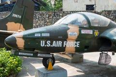 胡志明市,越南- 2015年1月27日:赛斯纳A-37蜻蜓a 库存图片