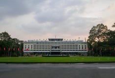 胡志明市,越南- 11月03 :Indep美好的风景  免版税库存照片