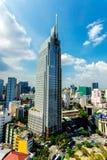 胡志明市(西贡) - 2014年7月03日-街市天空拳击手 库存图片
