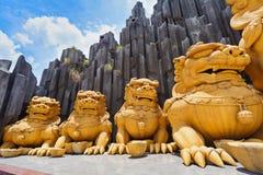 胡志明市(西贡)游乐园Suoi连队 库存图片