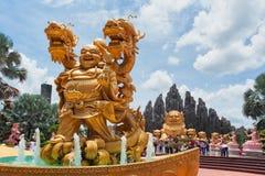 胡志明市(西贡)游乐园Suoi连队 库存照片
