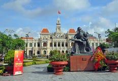 100年胡志明庆祝,越南。 免版税库存图片