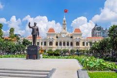 胡志明纪念碑 图库摄影