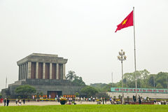 胡志明陵墓,河内,越南, 免版税库存照片