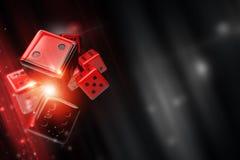 胡扯模子赌博娱乐场比赛 库存例证