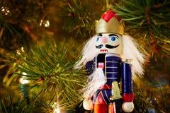 胡桃钳圣诞节装饰品 免版税库存照片