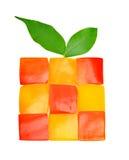胡椒模式Apple马赛克  库存图片