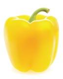 胡椒甜黄色 图库摄影