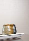胡椒盐瓶 免版税库存图片