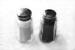 胡椒盐 库存图片