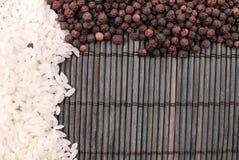 胡椒米 免版税库存照片