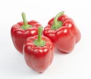 胡椒红色甜点三 库存照片