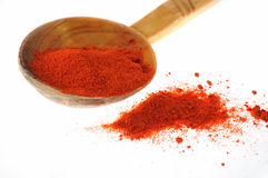 胡椒红色香料 库存照片