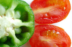 胡椒蕃茄 库存照片