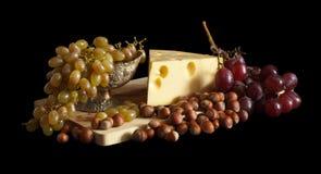 胡说干酪的葡萄 库存照片