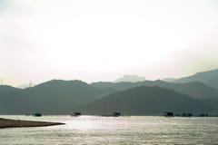 胡闹海岛的路 免版税图库摄影