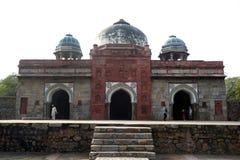 胡马雍坟茔在德里,印度 免版税库存照片
