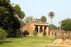 胡马雍坟茔在德里,印度 图库摄影