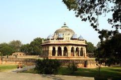 胡马雍坟茔在德里,印度 库存图片