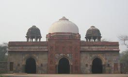 胡马雍的坟茔在德里,印度 免版税图库摄影