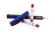 胰岛素笔 库存照片