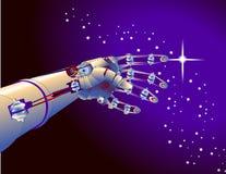 胳膊机器人 免版税库存照片