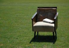 胳膊椅子 免版税库存照片